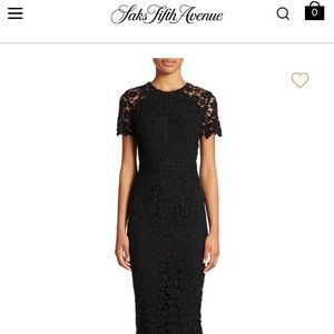 Shoshanna Beaux Guipure Lace Sheath Dress
